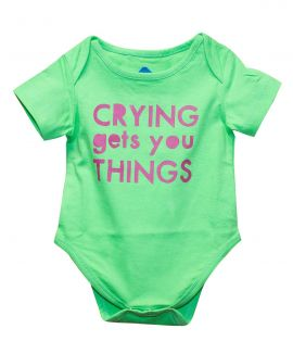 CRYING ROMPER