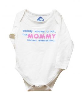MOMMY KNOWS EVERYTHING ROMPER