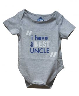 BEST UNCLE ROMPER