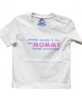 MOMMY KNOWS EVERYTHING T-SHIRT