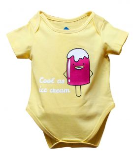 COOL AS ICE CREAM ROMPER