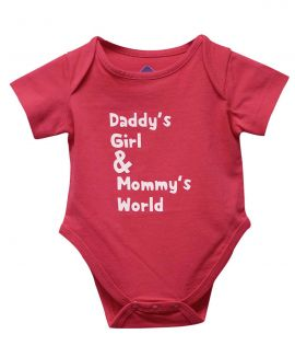 DADDYS GIRL MOMMYS WORLD ROMPER