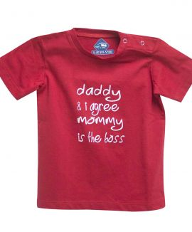 MOMMY IS BOSS T-SHIRT