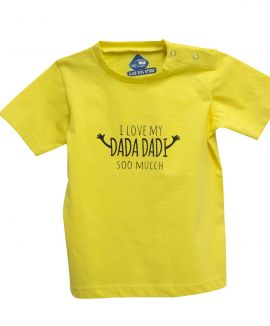 I LOVE DADA DADI T-SHIRT