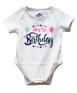 HALF BIRTHDAY ROMPER