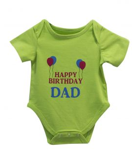 HAPPY BIRTHDAY DAD ROMPER