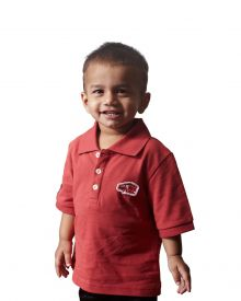 KIDS-POLO-RED