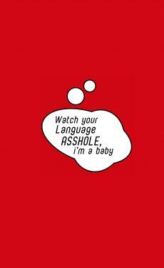 WATCH-YOUR-LANGUAGE-ROMPER