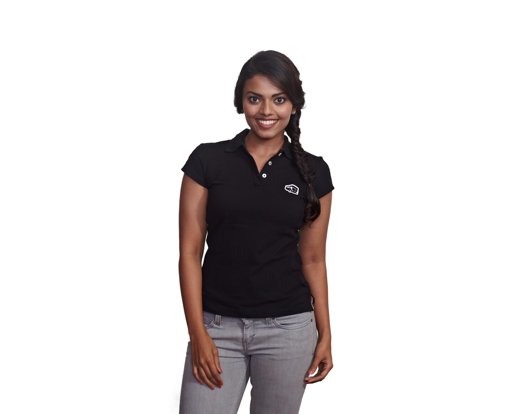 BLACK-POLO-WOMEN
